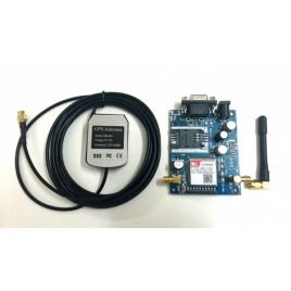 SIM 808 GSM GPRS GPS Module with GPS and GSM Antenna