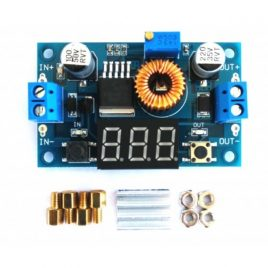 XL4015 5A Step Down Adjustable Power Supply with LED Voltmeter