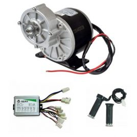 E-BIKE DC GEARED MOTOR 24V 300RPM 350W WITH CONTROLLER
