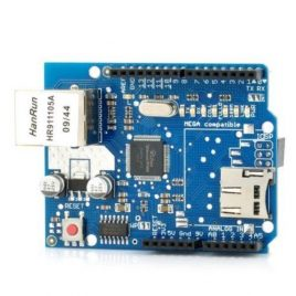 Ethernet W5100 Shield With Micro SD Card Slot for Arduino