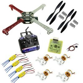 Quadcopter Combo DIY Kit With CC3D Flight Controller