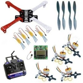 Quadcopter Combo DIY Kit With KK2.1.5 Flight Controller