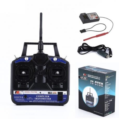 FlySky CT6B 2.4Ghz 6CH Transmitter With FS-R6B Receiver