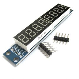 MAX7219 8-Digit 7-Segment Digital LED Tube Display