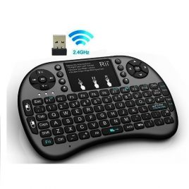 Mini Wireless Keyboard With Touchpad Mouse