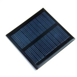 6V 80mA Mini Solar Panel DIY (7cm×7cm)