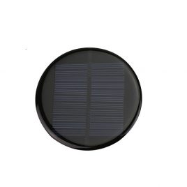 6V 80mA Mini Solar Panel Round 80mm DIY