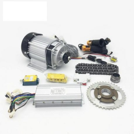 E-BIKE 48V 400RPM 750W BLDC Geared Motor Full Kit