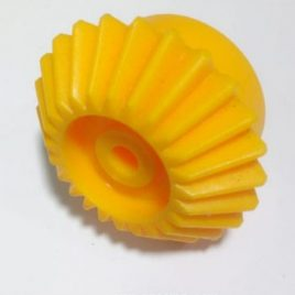 Yellow Gear Right-Angle Helical Bevel Gear Transmission-24T