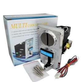 Intelligent Multi Coin Selector Acceptor