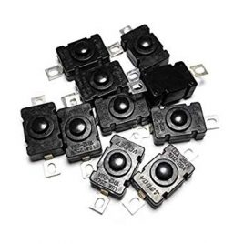 Mini On Off Button Self Locking Switch-10 pcs