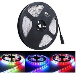Waterproof RGB LED Light Strips - 12Volt- 24LEDs/m-120LEDs Per Roll