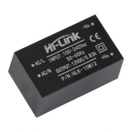 HLK- 10M12 AC-DC 220V-12V-10W Step-Down Power Supply Module