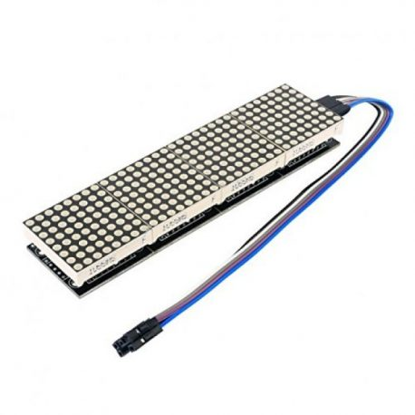 MAX 7219 Dot Led Matrix Module 4 In 1 Display with 5 P Line Module