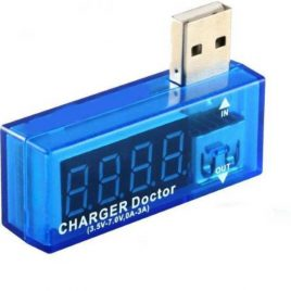 USB Charger Doctor (Voltmeter & Ammeter)