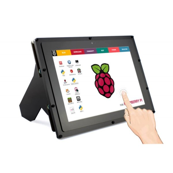 Waveshare 10 1-Inch 1280 x 800, IPS Touch Screen With Case For Raspberry Pi