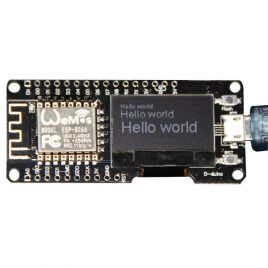 NodeMCU ESP8266 With 0.96 Inch OLED Screen