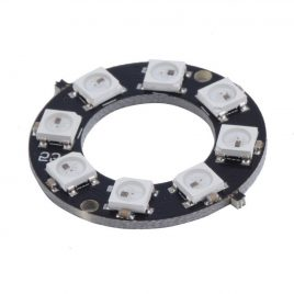 8 Bit WS2812 RGB LED Circular Development Board