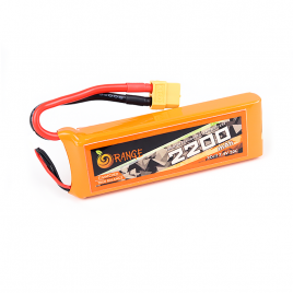 Orange 2200mAh 2S 30C/60C Lithium polymer battery Pack