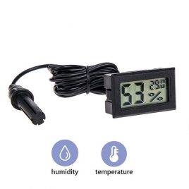 Thermohygrometer LCD Digital Thermometer Incubator With Humidity