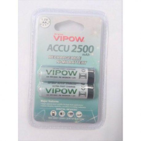 Vipow Accu AA1.2v 2500mAh Rechargeable Ni-MH Battery