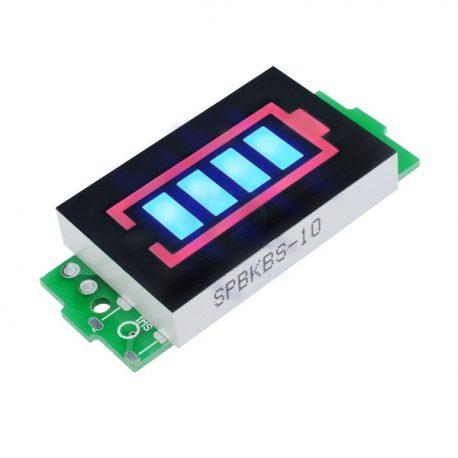 2S Lithium Battery Pack Power Indicator Board 6.6V-8.4V