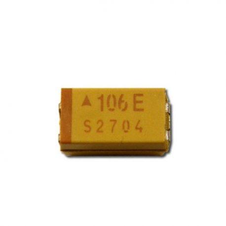 10uF/16V 1206 Tantalum Capacitors - Solid SMD