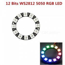 12Bit WS2812B 5050 RGB LED Circular Development Board