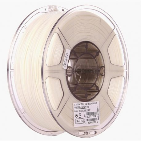eSun PLA+ 1.75mm 3D Printing Filament 1kg-White