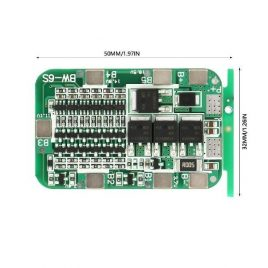 6S BMS 22V 18650 Lithium Battery Protection Board