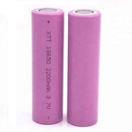 ICR18650 2200mAh 3.7V Lithium-Ion Battery XTT