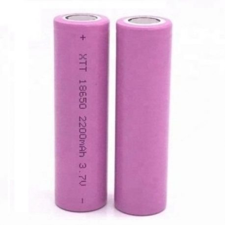 ICR18650 2200mAh 3.7V Lithium-Ion Battery XTT