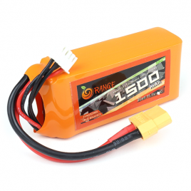 ORANGE 1500mAh 3S 30C Lithium Polymer Battery Pack