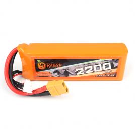 Orange 2200mAh 3S 30C/60C Lithium Polymer Battery Pack
