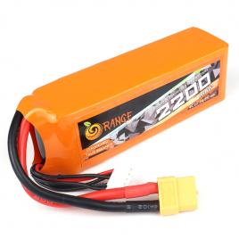 Orange 2200mah 4S 40C/80C Lithium Polymer Battery Pack