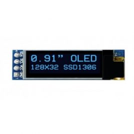 "0.91"" I2C/IIC Serial 4-Pin OLED Display Module"