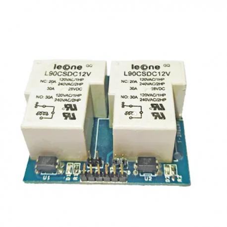 12V 2-Channel Relay Module T Type 30A With Optocoupler