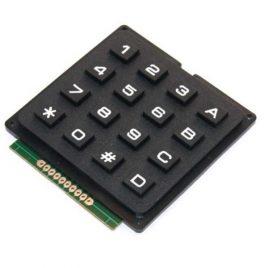 4×4 Matrix Keypad Telephone Type