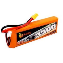 Orange 3300mAh 3S 35C/80C Lithium Polymer Battery Pack (LiPo)