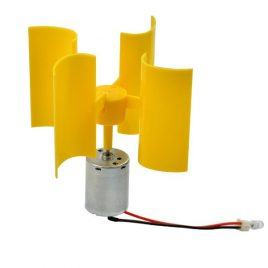 Micro Vertical Wind Turbines With Motor