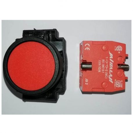 Flat Push button With Element NC Type