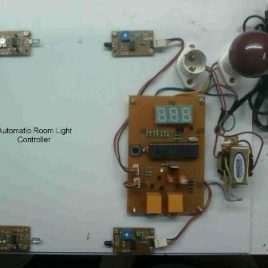 Automatic Room Light Controller Using 8051