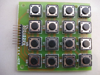 4X4 Matrix Keyboard Big Switch