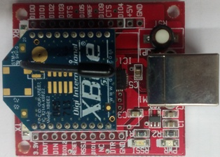 Xbee with USB BaseBoard