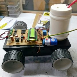 Fire Fighting Robot Project